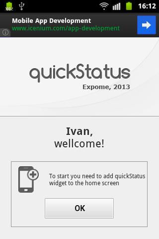 quickStatus vk.com