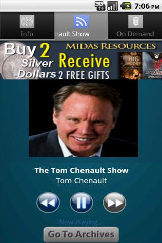 The Tom Chenault Show - screenshot