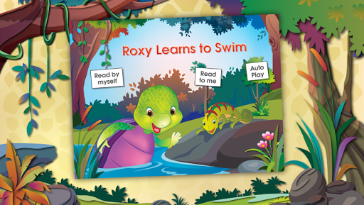 Purple Turtle: Swimming Lesson