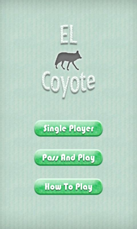 El Coyote - screenshot