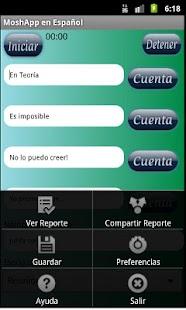 MoshApp en Español - screenshot thumbnail