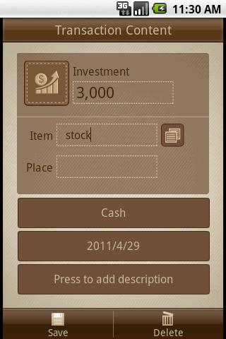 Money Notes Lite - screenshot