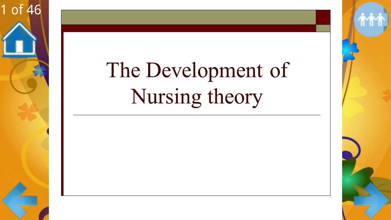development of nursing philosophy  melissa carter discussion board: knowledge development in nursingwhen i first started as a nurse, i never took much thought about how philosophy has impacted the knowledge development in nursing.