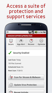 Verizon Support & Protection - screenshot thumbnail