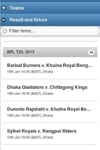 BPL T20 2013 - screenshot thumbnail