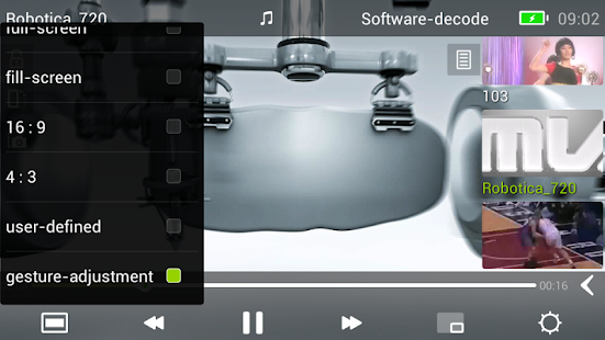MoboPlayer 2.0 - screenshot thumbnail