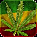 Marijuana Leaf HD Battery icon