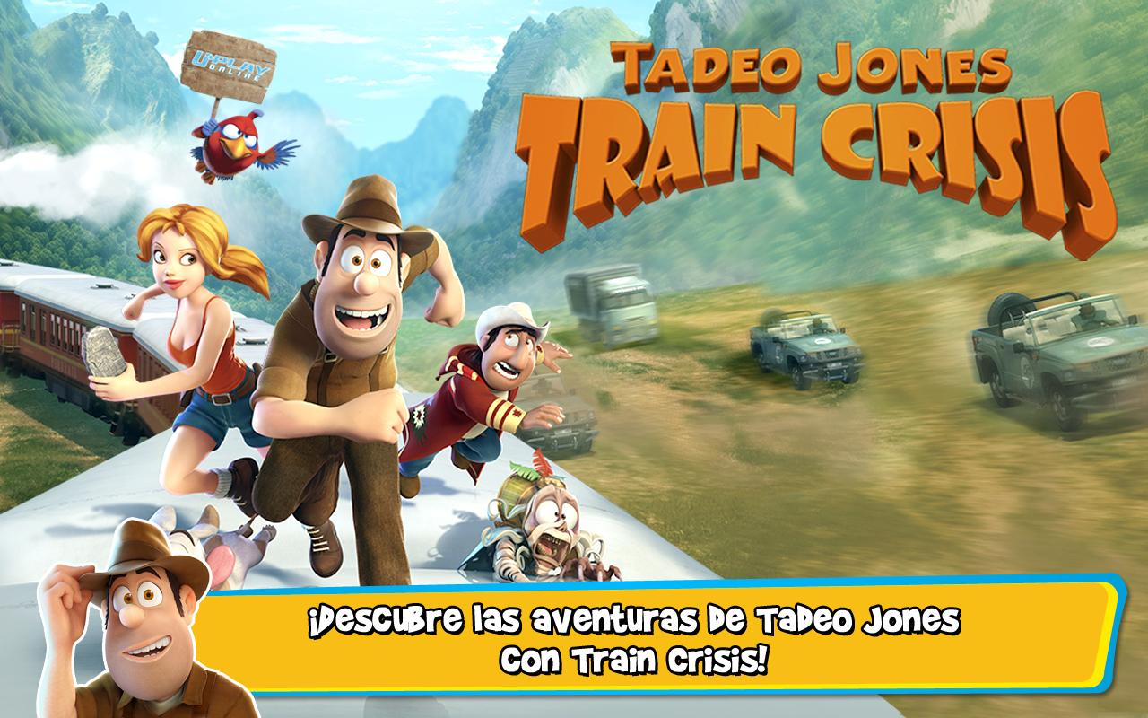 Tadeo Jones: Train Crisis - screenshot