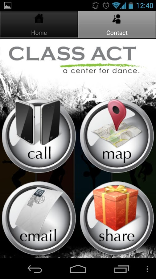 Class Act Center for Dance - screenshot