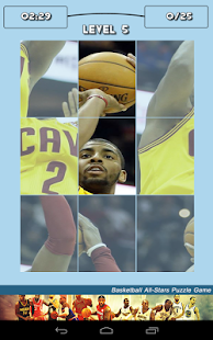 Basketball All-Stars Puzzle - screenshot thumbnail