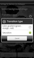 Screenshot of Battery Live Wallpaper
