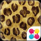 ヒョウ柄壁紙 flutter leopard icon