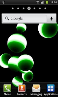 NEON BALL 3D Live Wallpaper - screenshot thumbnail