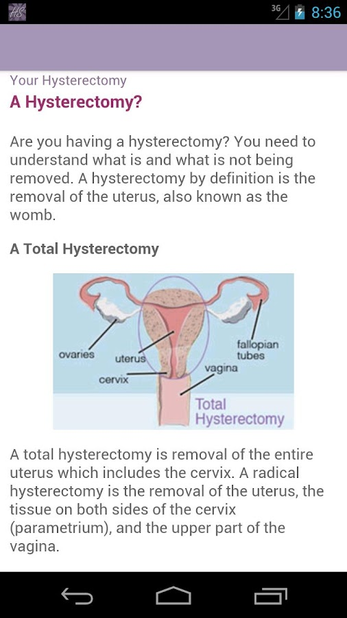 HysterSisters Hysterectomy- screenshot