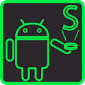 Fluo Green Holo Free Theme icon