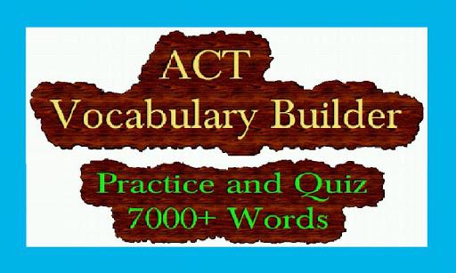 ACT Vocabulary Builder