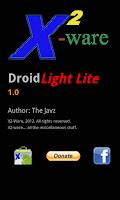 Screenshot of Droid Light Lite