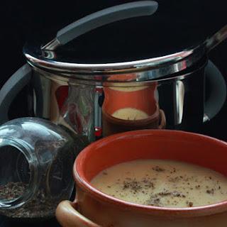 Mushroom and Saffron Soup