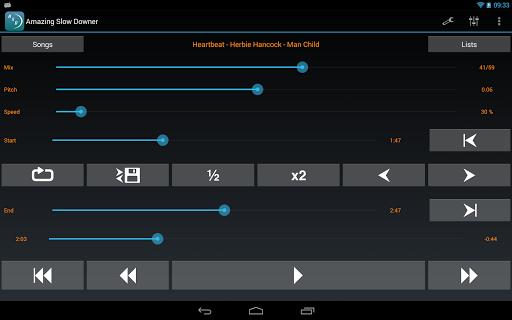 玩免費音樂APP|下載Amazing Slow Downer Lite app不用錢|硬是要APP