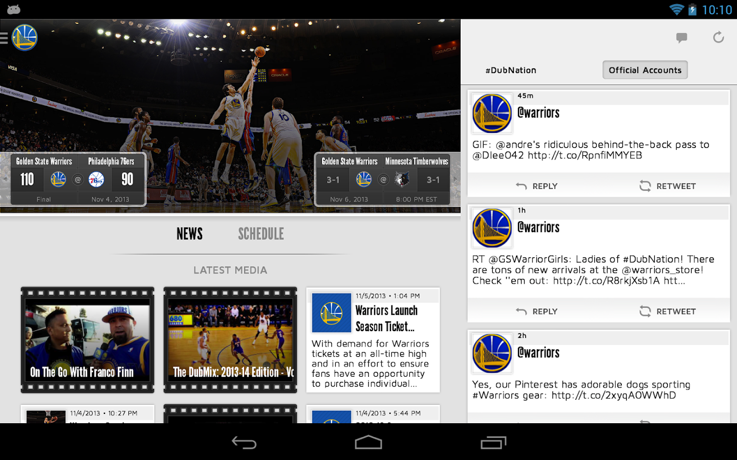 Golden State Warriors - screenshot