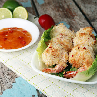 Low Carb Coconut Shrimp.