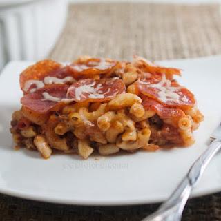 Meat Lovers Pizza Casserole.