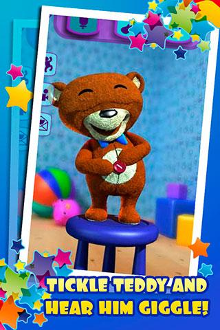 Talking Teddy Bear Free - screenshot