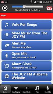 The JOY FM Alabama - screenshot thumbnail