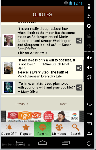 GOODREADS QUOTES QUOTATIONS