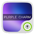 Purple Charm GO Locker Theme icon