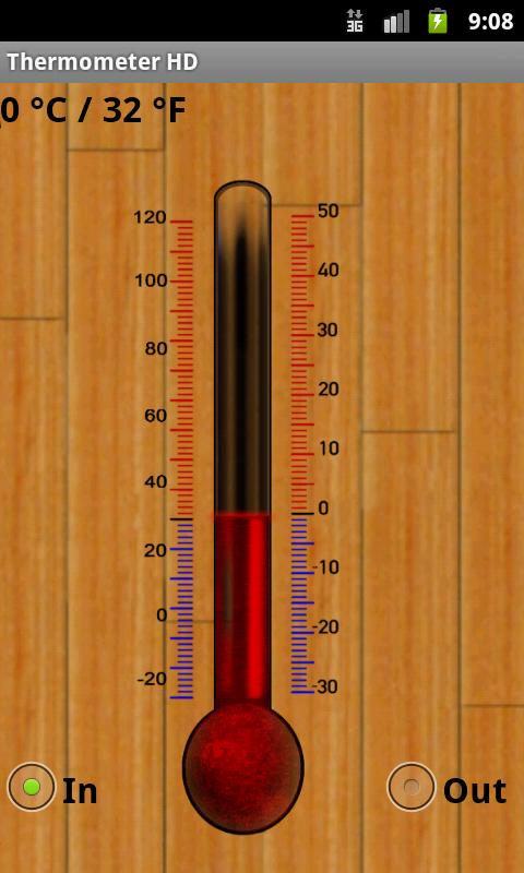 Thermometer HD - screenshot