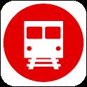 日本の地下鉄  東京 大阪 名古屋 札幌 神戸 福岡 京都 icon