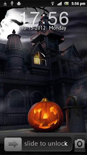 Halloween Go locker EX Theme