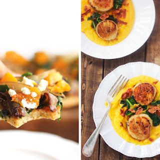 Roasted Butternut Squash and Caramelized Onion Pizza