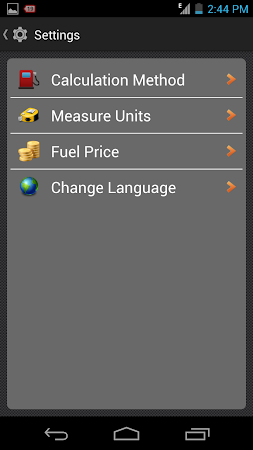 My Fuel Tracker 1.6 screenshot 2015363