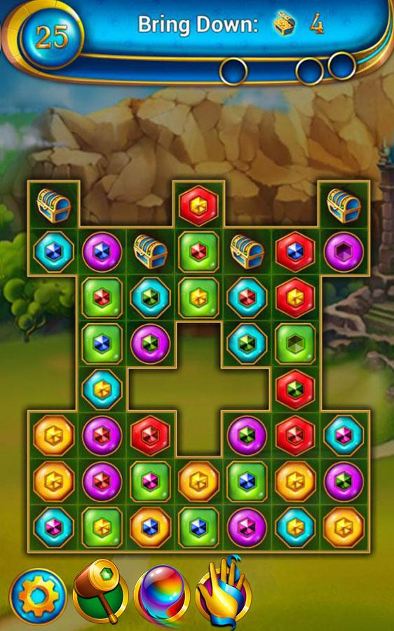 Lost Jewels - Match 3 Puzzle - screenshot
