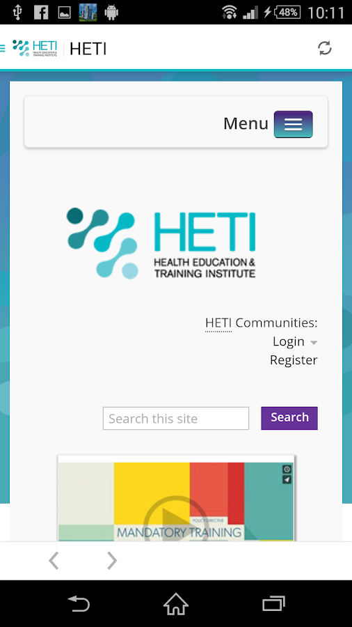 HETI- screenshot
