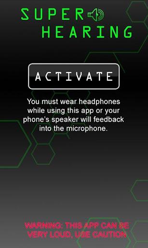 Super Hearing