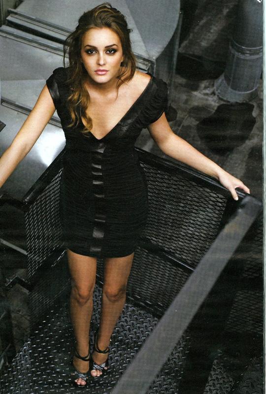 Leighton Meester Gotham Magazine September 2008 Shine