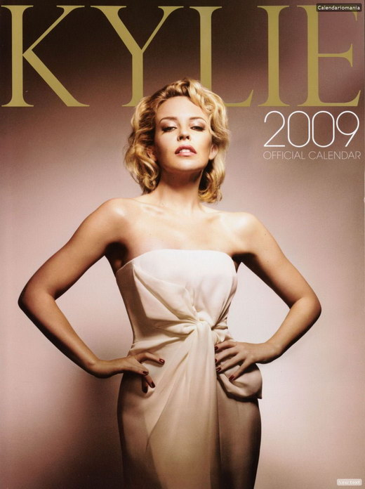 Kylie Minogue - Official Calendar 2009 Photoshoot  Dream -5168