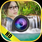 Nature Waterfall Photo Frames