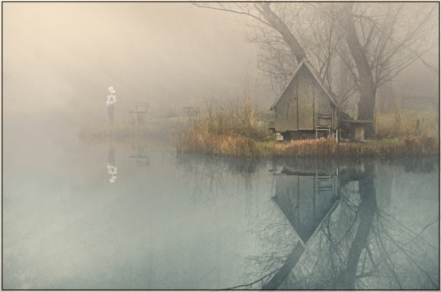 Loneliness by Gabor Dvornik - Landscapes Waterscapes ( season, color, impression, cpt, mood, landscape, light )