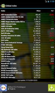 Info Saham Bursa Efek - screenshot thumbnail