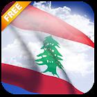 3D Lebanon Flag Live Wallpaper icon