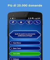 Screenshot of Milionario Quiz Italiano
