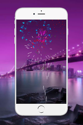 Fireworks Live Wallpaper Pro - screenshot