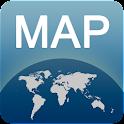 Karte von Lyon offline icon