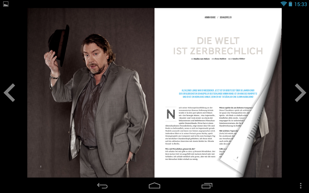 IDEAL! Interview Magazin- screenshot