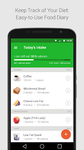 Calorie, Carb & Fat Counter - náhled