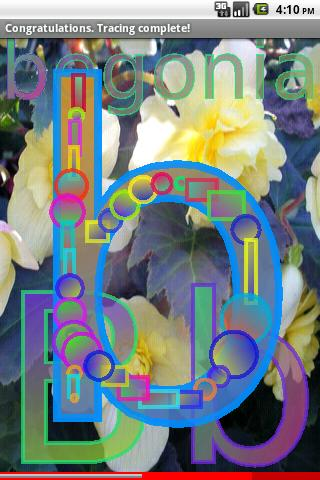 Easy Flower Alphabet 3 FREE- screenshot